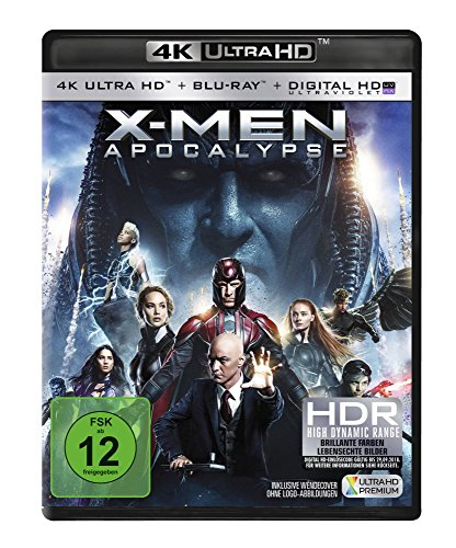 X-Men Apocalypse 4K Ultra HD Blu-ray