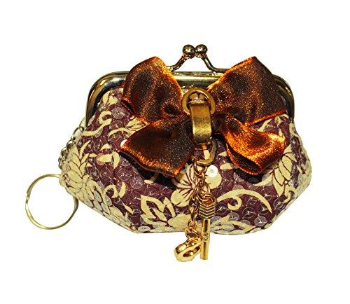 Ana'z Fashion Purse Embroidered Handbag Women's