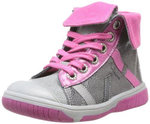 Babybotte  Artiste,  Sneaker bambina, Grigio (Gris (6 075 Cuir/Gris Cyclamen)), 24