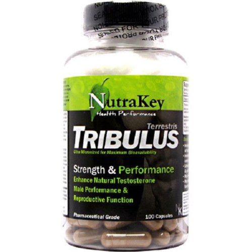 Nutrakey Tribulus Pharmaceutical Grade Testosterone Booster - 100 Capsules.,Good Product High Quality And Quick Shipment For Usa. Address !!