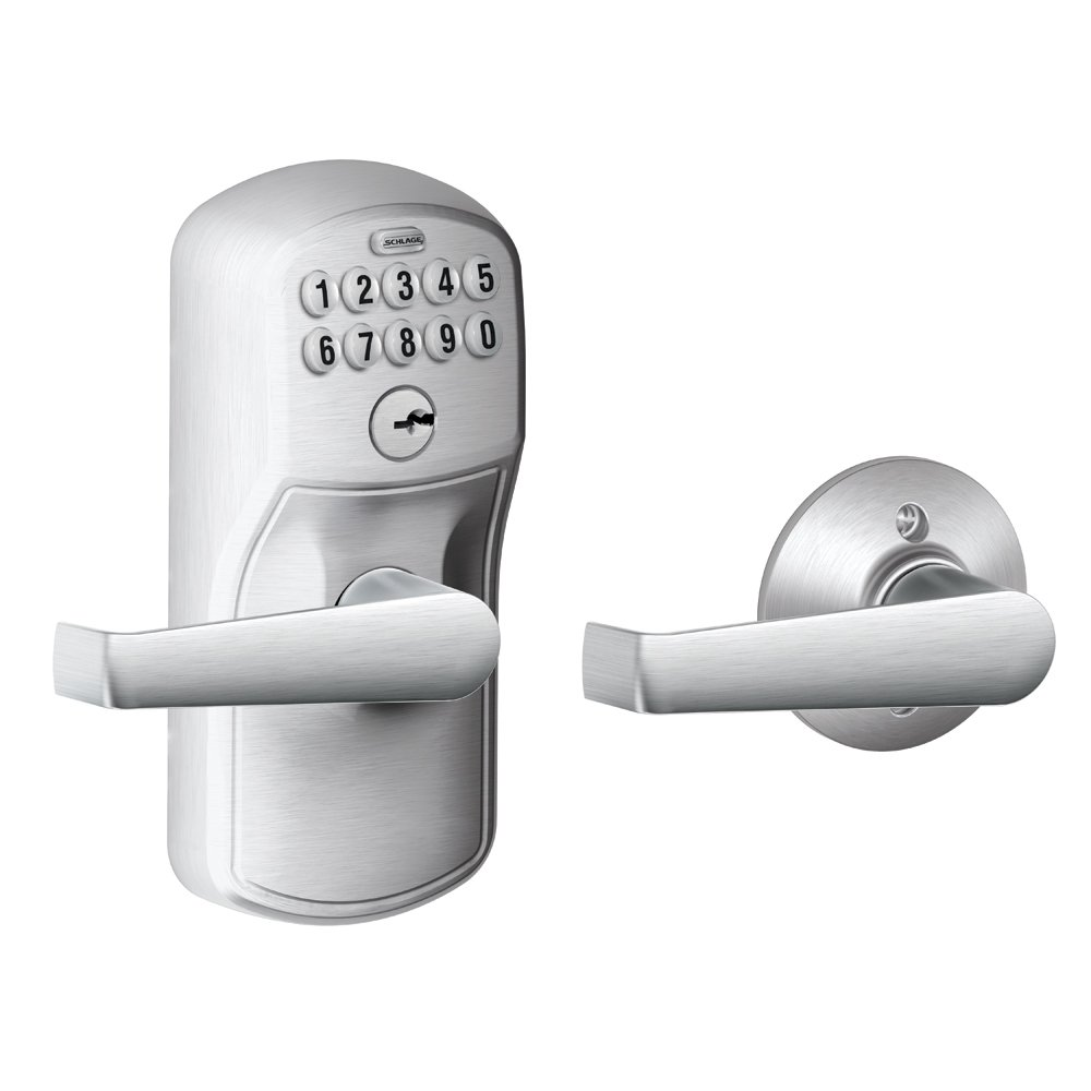SCHLAGE 西勒奇 电子门锁,$94.19(含税直邮到手价格约¥705)