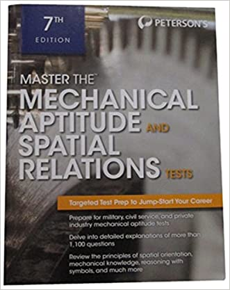 Master The Mechanical Aptitude and Spatial Relations Test (Mechanical Aptitude and Spatial Relations Tests)