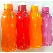 Tupperware New Aquasafe FlipTop Plastic Water Bottles Set, 750 Ml, Set Of 4. Freezer Safe, Best Offer With Top...