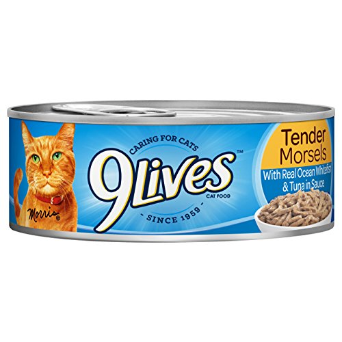 9Lives Meaty Paté With Real Ocean Whitefish & Tuna