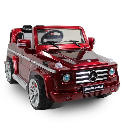Children Ride On Electric Car Mercedes Benz G55-AMG Kids Battery Ride on Wheel Motorized Dynamics Remote Control RC Toys