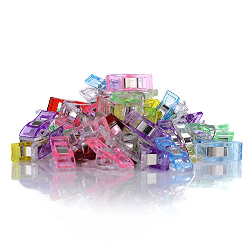 GWHOLE Pack of 60 Wonder Clips for Sewing Quilting Crafting (Fabrics For Quilting compare prices)