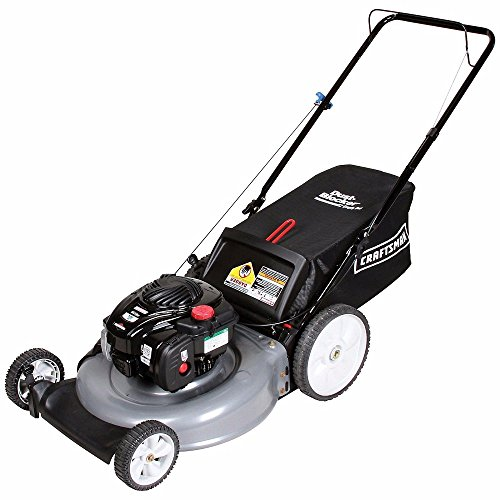 Push Lawnmowers Craftsman 140cc 5.0 Briggs & Stratton 21 in Rear Bag Yard Grass New x 1 (Robot Lawn Mower Honda compare prices)