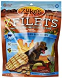 Zuke's Z-Filets High Protein Dog Treats Grilled Beef Recipe, 3-1/4-Ounce
