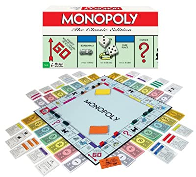Monopoly Board Game The Classic Edition