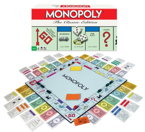 Monopoly Board Game The Classic Edition (Monopoly Vintage compare prices)