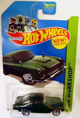 2014 Hot Wheels Aston Martin 1963 DB5 - Green (200/250) - 1