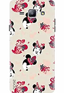 Noise Designer Printed Case / Cover for Samsung Galaxy J1 / Comics & Cartoons / Mickey Mouse Design