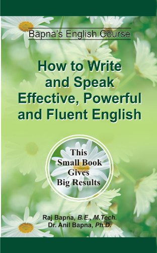 Becoming Fluent in Speaking and Writing English