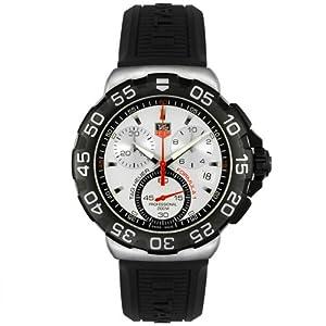 TAG Heuer Men's CAH1111.BT0714 Formula 1 Collection Chronograph Black Rubber Watch