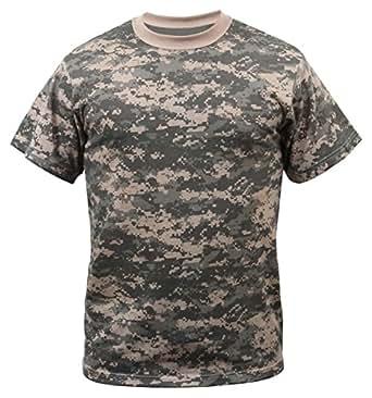 Rothco T-Shirt/Acu Digital Camo, X-Small