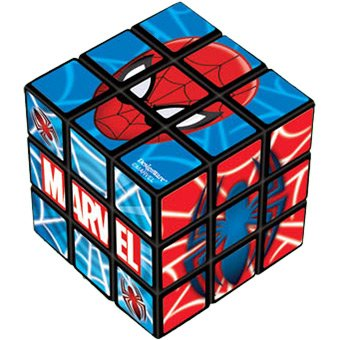 Spider-Man Puzzle Cube, Mini - 1