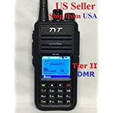 TYT Tytera MD-380 DMR Digital Radio,400-480UHF, Up to 1000 Channels, with Color LCD Display, Programming Cable and 2 Antenna (High Gain Antenna in cluded), Black