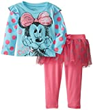 Disney Baby Baby-Girls Infant Disney's Minnie Girl Polka Dot Skegging Set