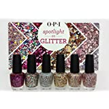 OPI Spotlight on Glitter 6 pc Nail Lacquer Polish Collection 2014 LIMITED ED