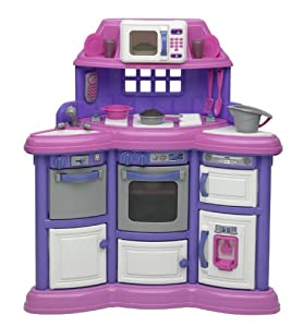 Amazon.com : American Plastic Toys Playtime Kitchen without Light