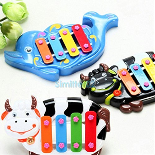 [New Musical Educational Animal Developmental Music Bell Toy 4 Tone for Kids Baby] (Assassins Creed Costume For Kids At Party City)