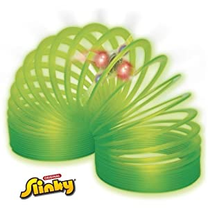 POOF-Slinky Model #128 Plastic Light-Up Original Slinky, Single Item