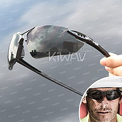 VAWiK sports indoor/outdoor safety glasses eye wear VA830, black frame, replaceable lens smoke/ silver mirror 1 PAIR