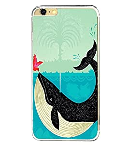 Bird and a Whale 2D Hard Polycarbonate Designer Back Case Cover for Apple iPhone 6