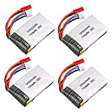 Voomall Spare Parts 7.4V 700mAh 25C Li-Po Battery For MJX X600 RC Quadcopter Drone Helicopter