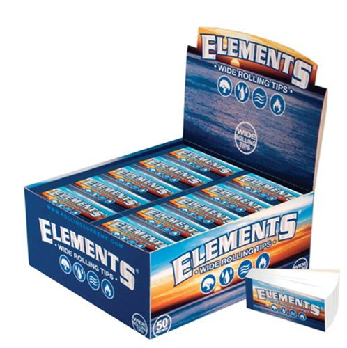 Elementi Larga Tips Filtri cartine - 1 Box 50 Libretti ()