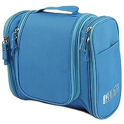 UberLyfe Travel Toiletry Bag cum Cosmetic Organizer - Blue (TB-001153-TOIYBG-BL)