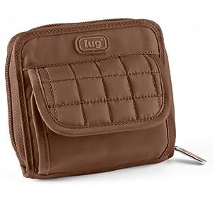 Lug Backflip Wallet, Chocolate Brown