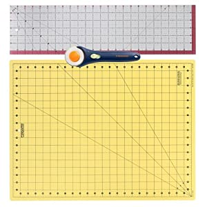 Fiskars 95237097 3-Piece Quilting Set