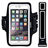 iPhone 6 Plus Armband, EOTW Running Sports Lightweight Armband for iPhone 6/6s Plus, Good for Running,Hiking, Walking, Jogging, Jumping, Gym and Yoga, Sweat-resistant Running Armband Holder with Earphone and Key Slots and Extra Extender-Fit for all People