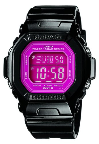 Baby-G Casio Ladies Digital Watch BG-5601-1ER with Resin Strap
