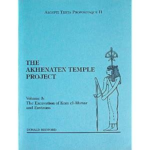 The Akhenaten Temple Project Vol. 3: The Excavation of Kom e 51KjZPU8PSL._SL500_AA300_