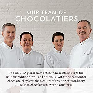 Godiva Chocolatier Assorted Belgian Chocolate Caramels Gift Box