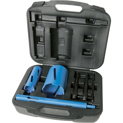Silverline 868543 Diamond Core Drill Bit Kit
