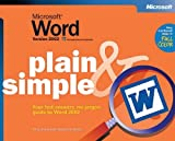 img - for Microsoft  Word Version 2002 Plain & Simple book / textbook / text book