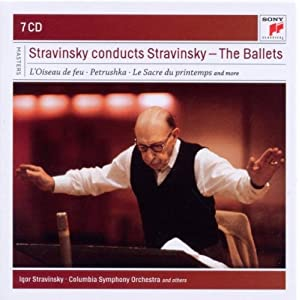 Stravinsky Conducts Stravinsky: Ballets