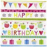 Servietten - Geburtstag