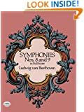 Symphonies Nos. 8 and 9 in Full Score (Dover Music Scores)