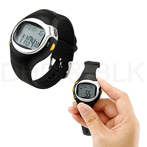 New Pulse Heart Rate Monitor Calories Counter Fitness Watch Brand New Led