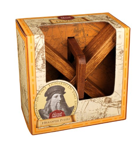 Great Minds Da Vinci's Helicopter Classic Wooden Puzzle