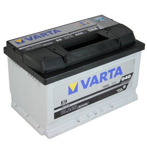 VARTA E9 Black Dynamic / Autobatterie / Batterie