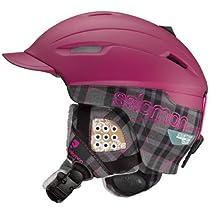 Salomon Poison Custom Air Ski Helmet (Grey Matt/Raspberry, XX-Small)