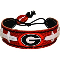 Buy Georgia Bulldogs Power G Logo Classic Football Bracelet by GameWear