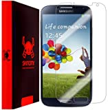 Skinomi TechSkin - Samsung Galaxy S4 Screen Protector Ultra Clear Shield + Lifetime Warranty
