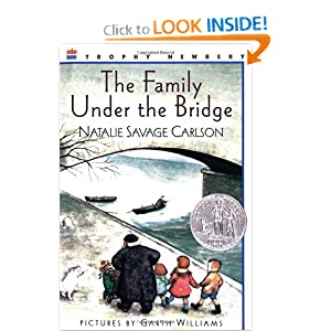 the family under the bridge book report