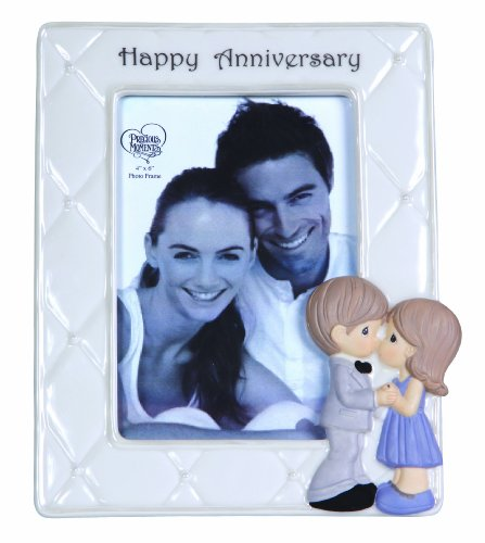 Precious Moments Happy Anniversary Photo Frame Figurine